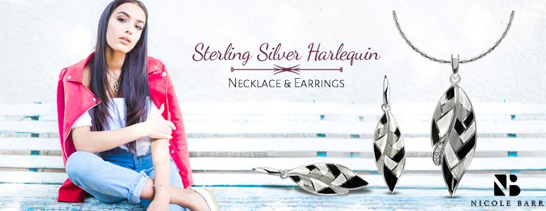Harlequin Necklace And Earrings In Grand Ledge MI